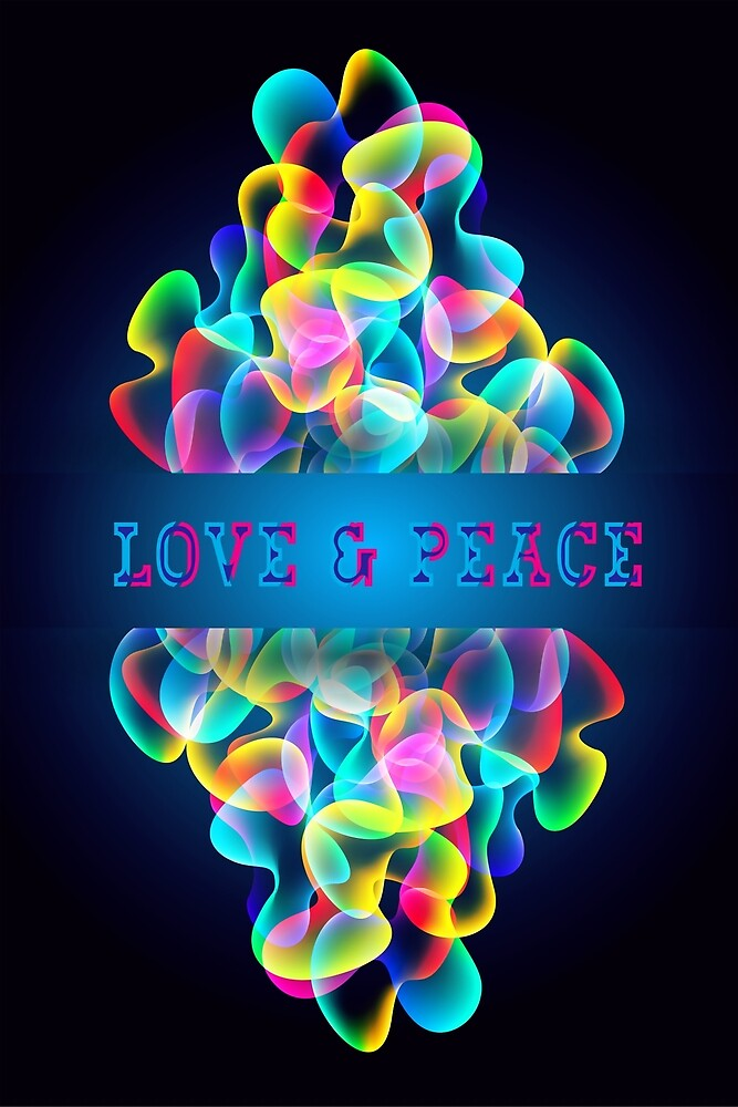Love & Peace 2018  by Hell-Prints