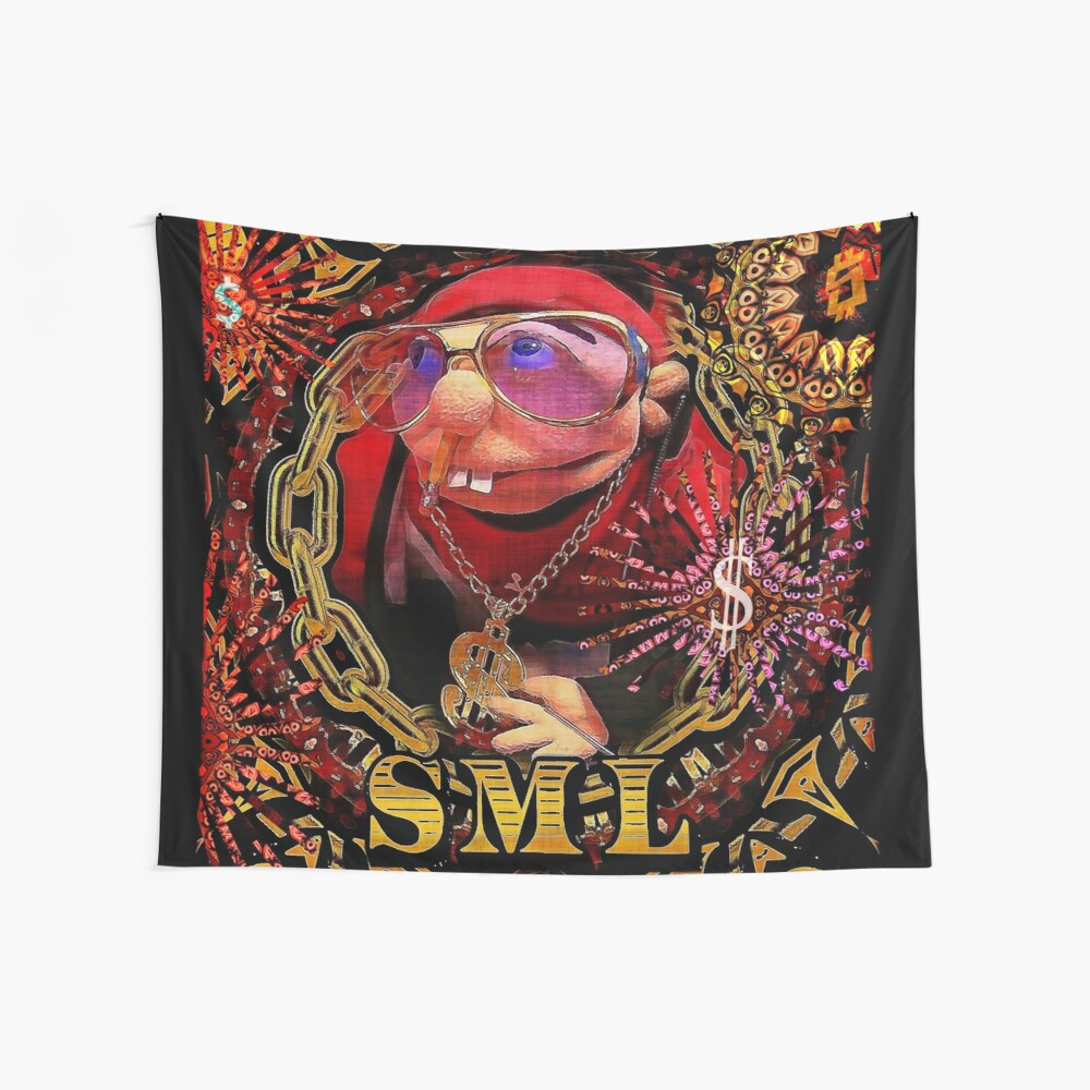 SML JEFFY RAPPER v3 Wall Tapestry