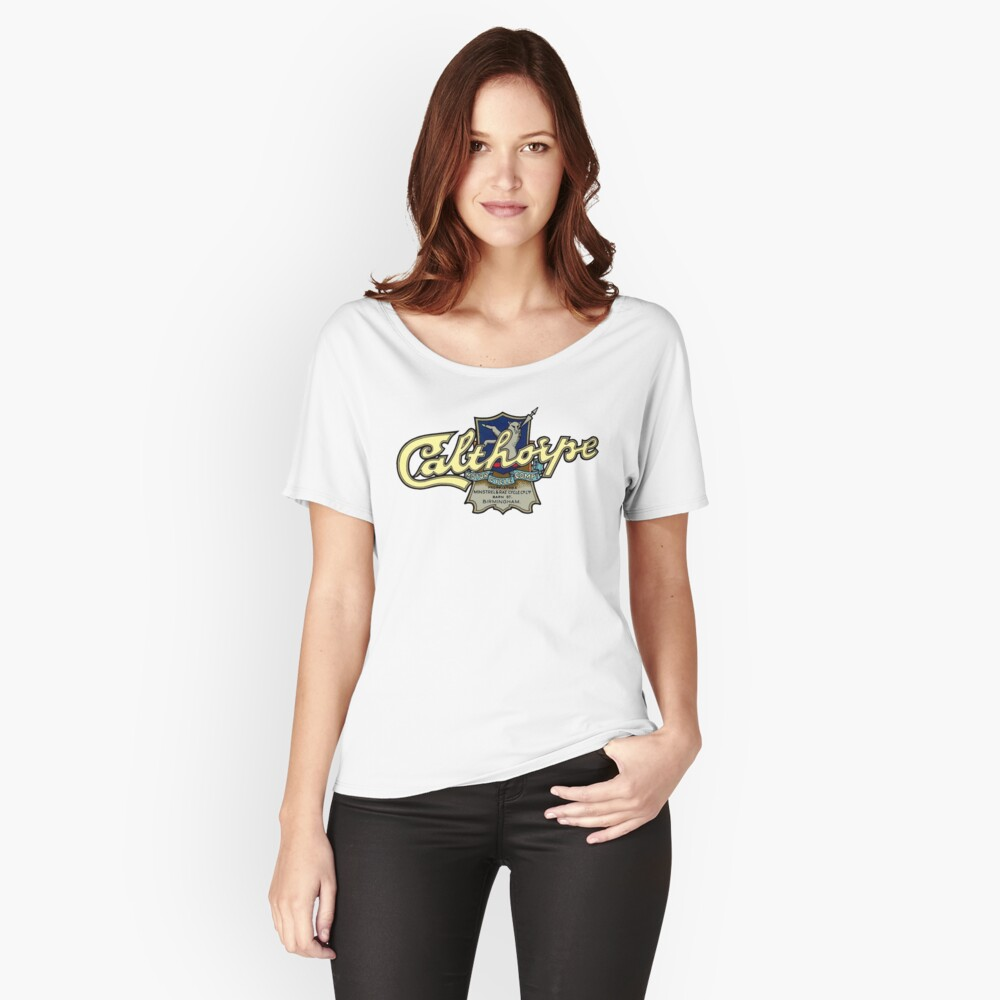 VINTAGE CALTHORPE MOTORCYCLE T Women's Relaxed Fit T-Shirt Front
