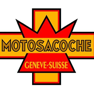 VINTAGE SWISS MOTOSACOCHE MOTORCYCLES  by cseely