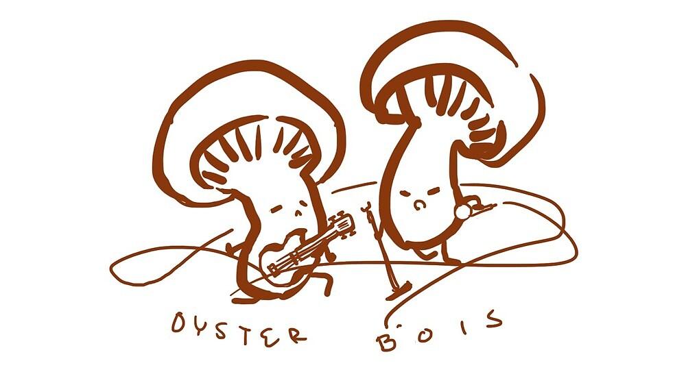 Oyster Bois by bunbundabunni