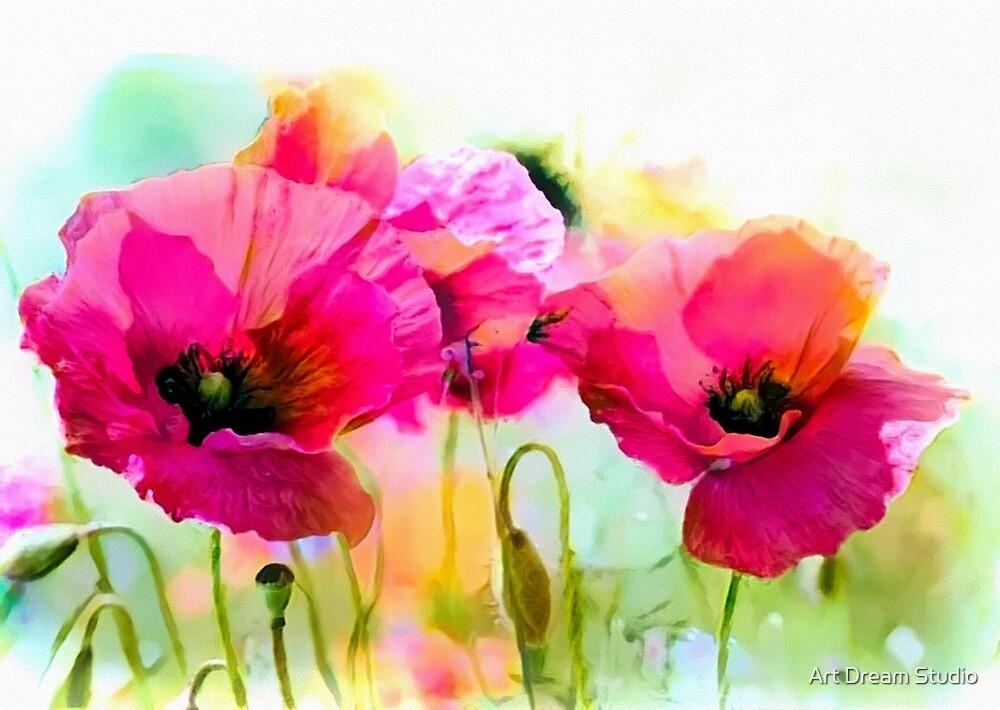 Poppies by Art Dream Studio