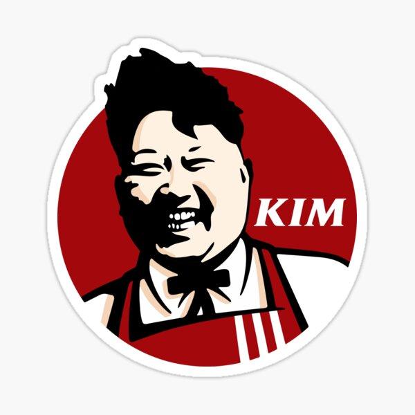 North Korean Fried Chicken Sticker