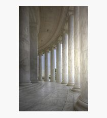 Circular Colonnade Of The Thomas Jefferson Memorial Photographic Print