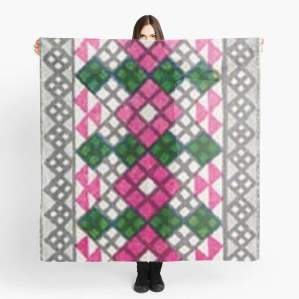 #Ковровый #узор #балкарского #карачаевского #войлочного #ковра #Carpet #pattern of a #Balkarian & #Karachay #felt #carpet #Ковровыйузор #CarpetPattern #таулу #tawlu #mountaineer #таулула #tawlula Scarf
