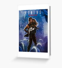 Franchise greeting cards redbubble aliens greeting card m4hsunfo