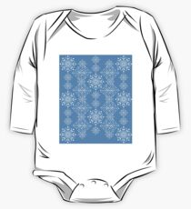 Snowflakes ornament 3 One Piece - Long Sleeve