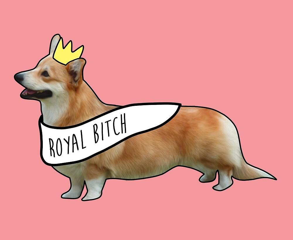 Royal Corgi by Amanda Mann