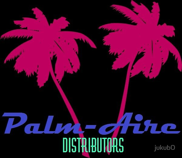 Palm-Aire Dist. Neon by jukub0