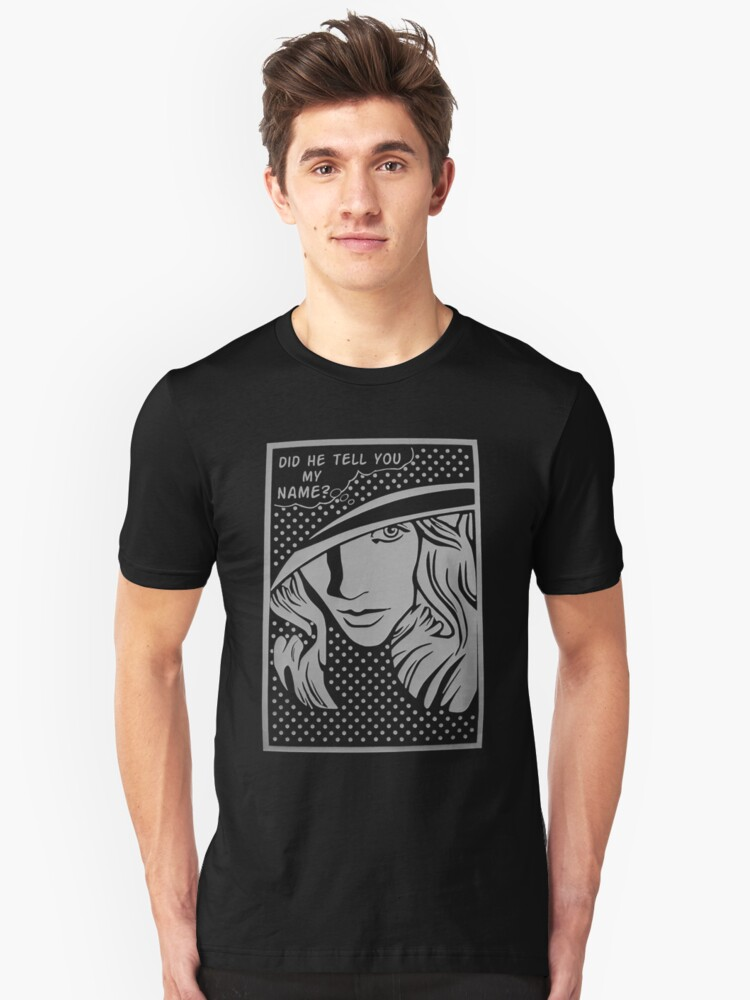 mystery on girl Unisex T-Shirt Front