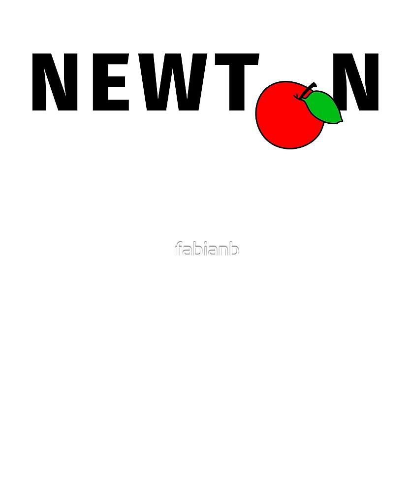 Physics Humor - Newton's Apple by fabianb