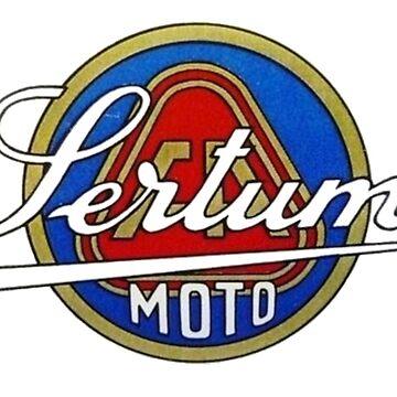 VINTAGE SERTUM ITALIAN MOTORCYCLES  by cseely