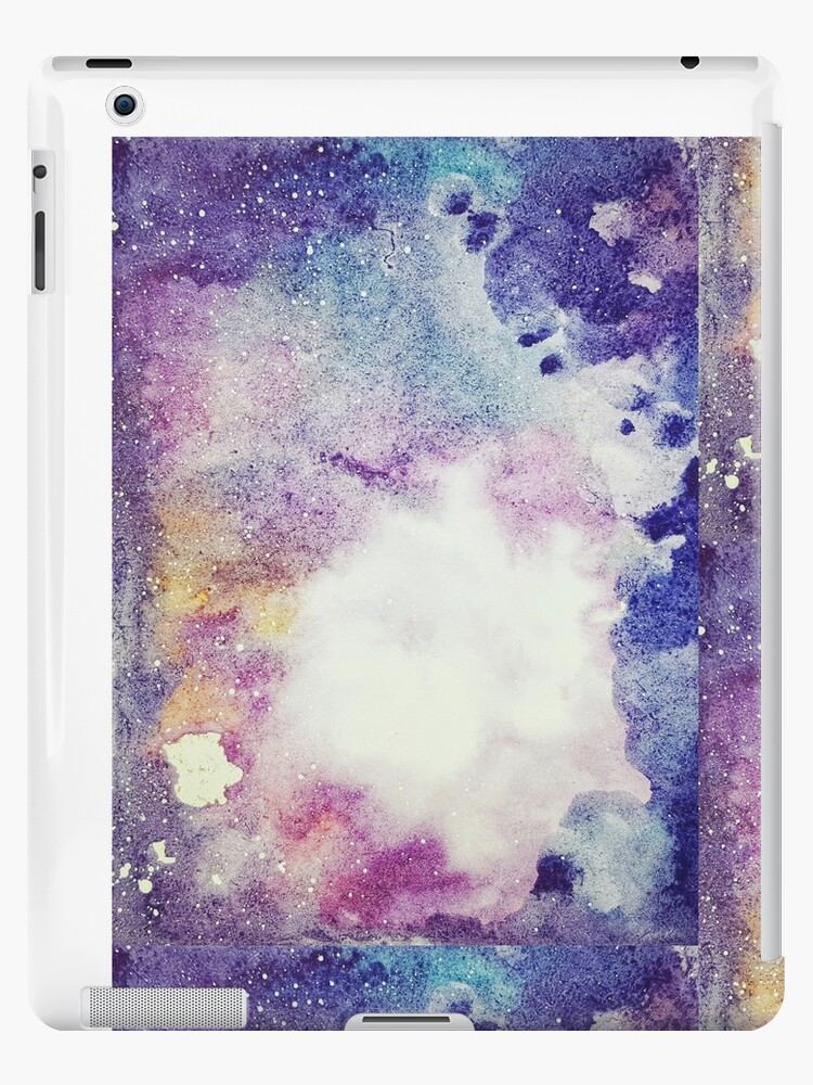 deaf0f730caa1 'Pastel Watercolor Galaxy Painting' iPad Case/Skin by Sutherlandh