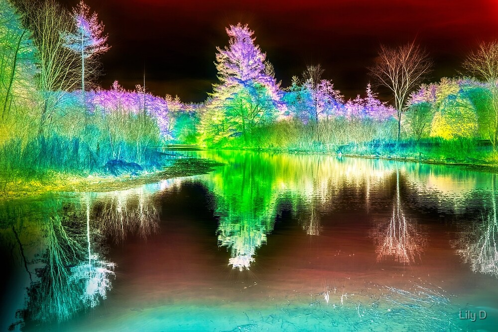 Infrared landscape 2 by Art Dream Studio