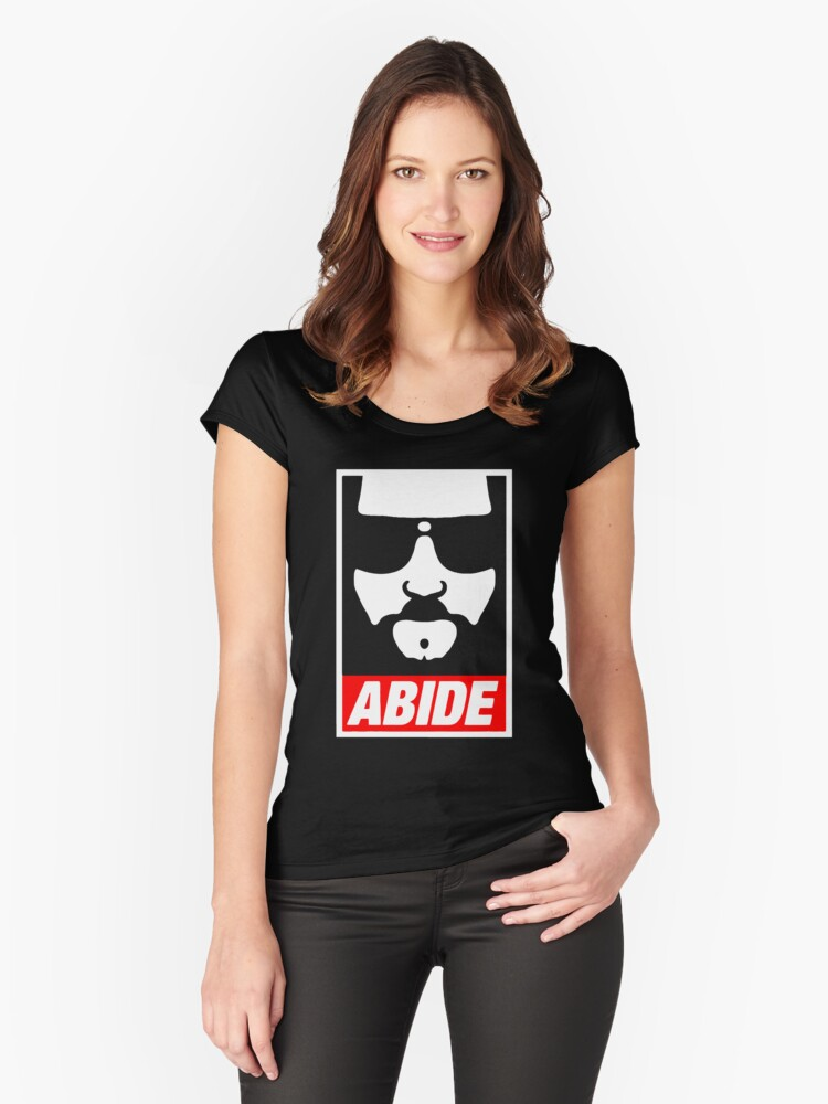 A bite Logo Tshirt  Women's Fitted Scoop T-Shirt Front