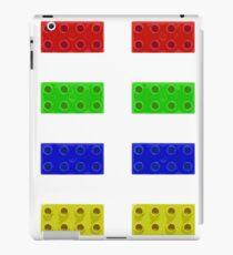 Red, Green, Yellow And Blue Lego iPad Case/Skin