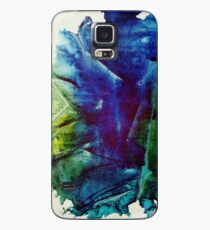 Earth Tone Crinkle Watercolor Case/Skin for Samsung Galaxy