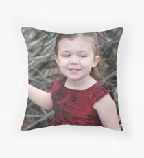Christmas Princess Zoie Throw Pillow