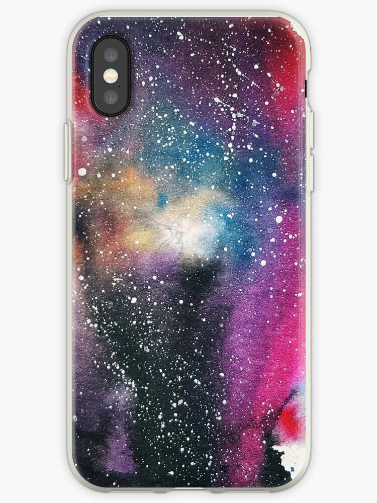 Watercolor Milky way Galaxy by Sutherlandh