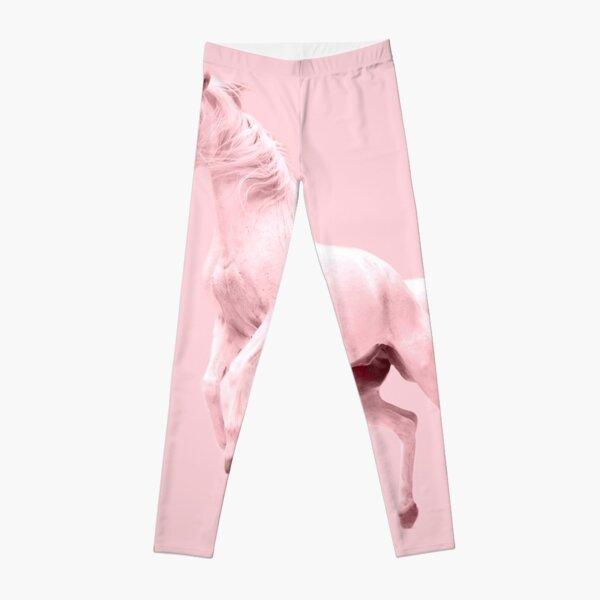 Pink Unicorn by Alice Monber Leggings