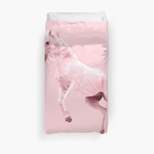 Pink Unicorn by Alice Monber Duvet Cover