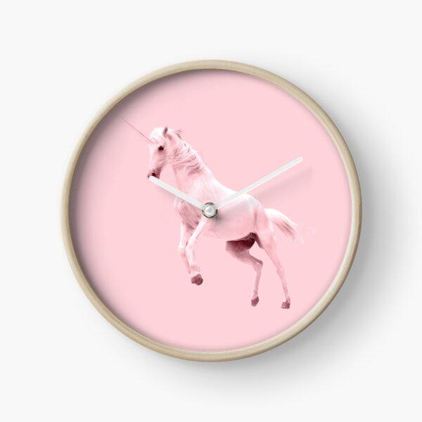 Pink Unicorn by Alice Monber Clock