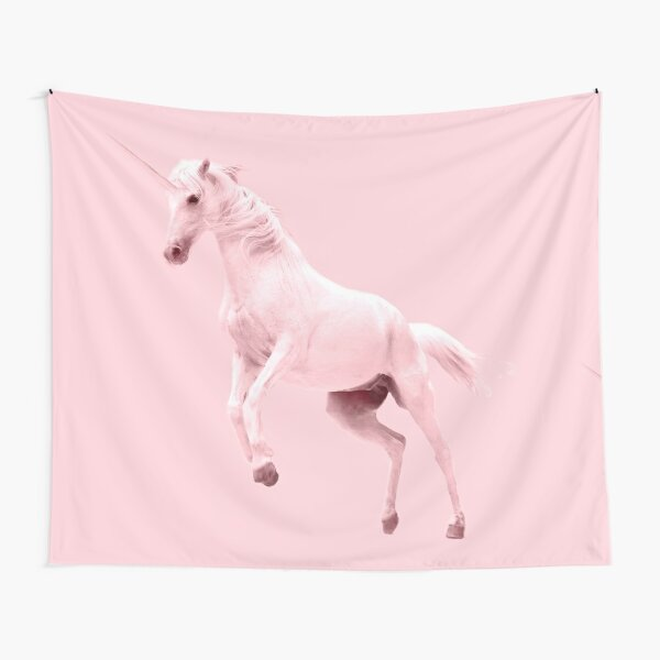 Pink Unicorn by Alice Monber Tapestry