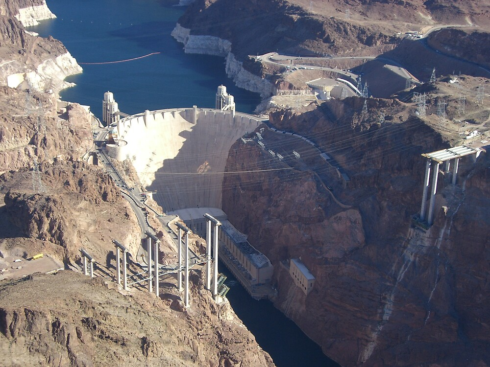 hoover dam nevada by mikepitman