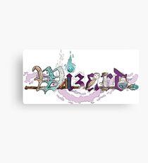 Wizard Type Metal Print