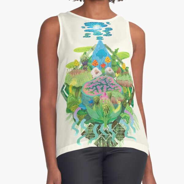 The Geode Sleeveless Top