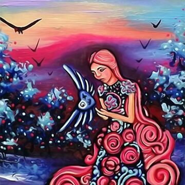 Princess Of Hearts / Fantasy Art by JoseJuarez