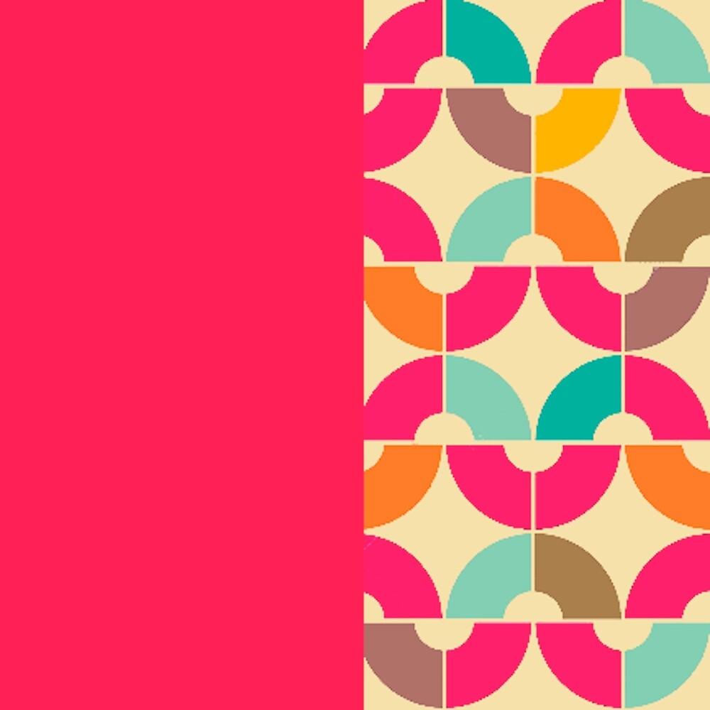 retro pop 2 pink  by MidnightSoda