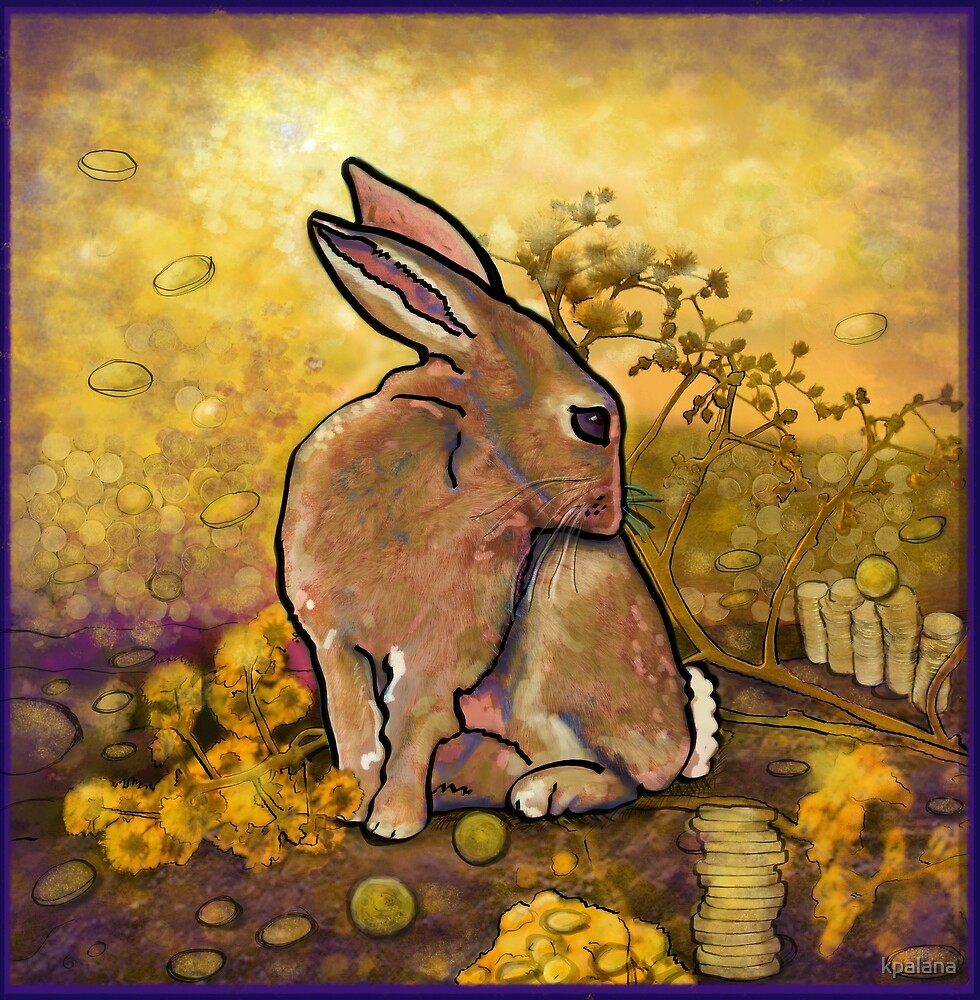 The Abundance Bunny by Kristen Palana