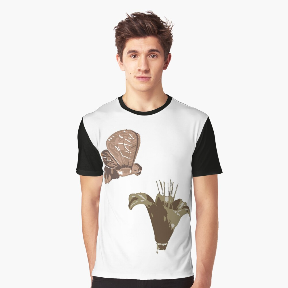 Pollination or Story of life Graphic T-Shirt Front