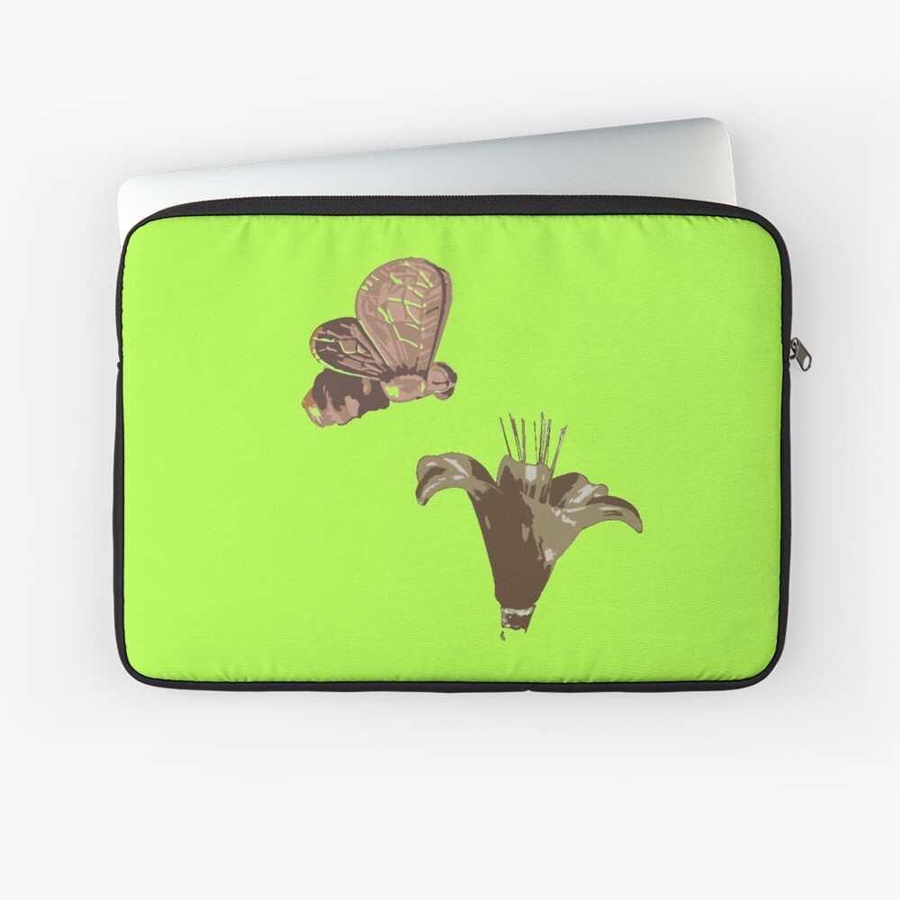 Pollination or Story of life Laptop Sleeve Front