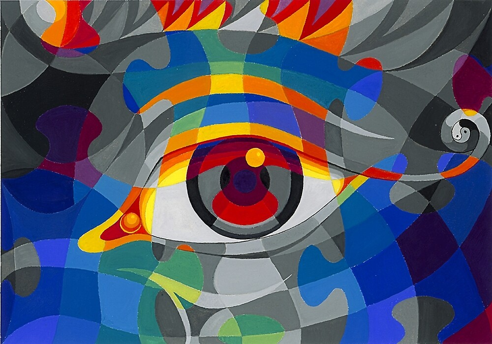 The Eye Puzzle, or an Puzzled Eye by E Lynx