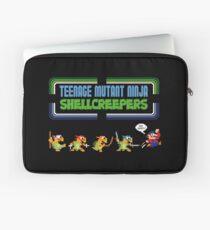 Teenage Mutant Ninja Shellcreepers - Arcade Jokes Laptop Sleeve