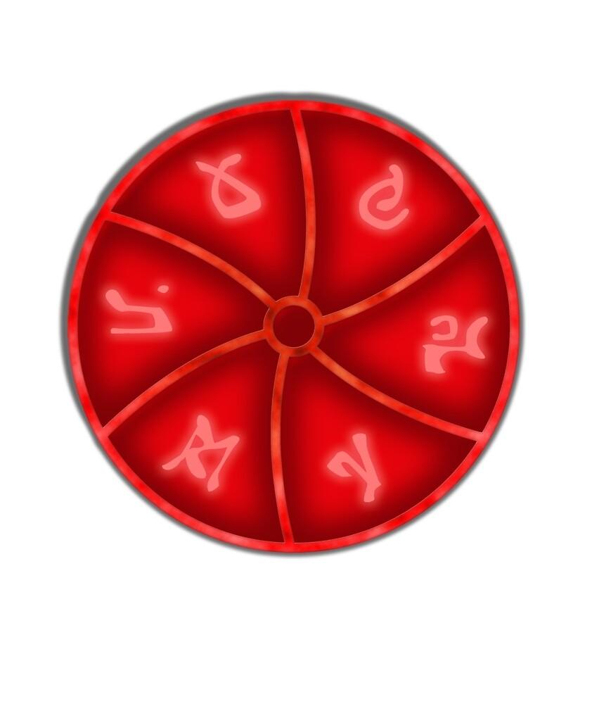 Troll Hunter Netflix Merlin Charm RED by JasonFreak