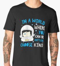 Trending Choose Kind Anti Bullying Helmet T-Shirt Shirt Men's Premium T-Shirt