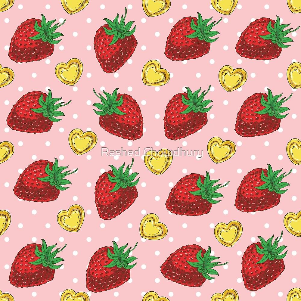 Strawberry Valentine by Rashed Chowdhury
