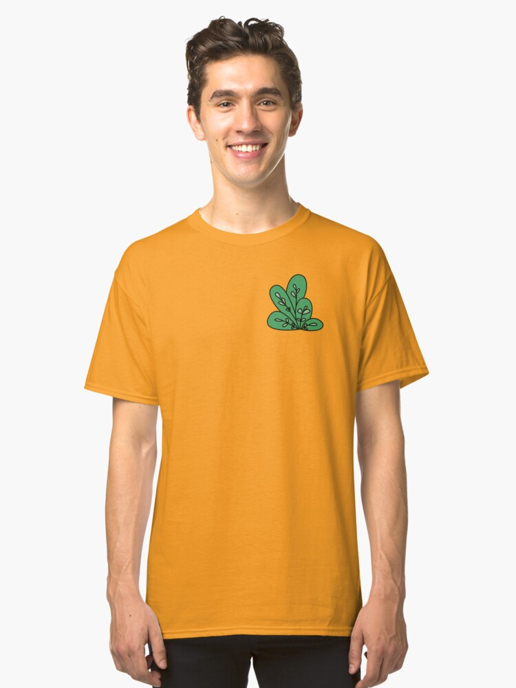 LEAFY  Classic T-Shirt Front