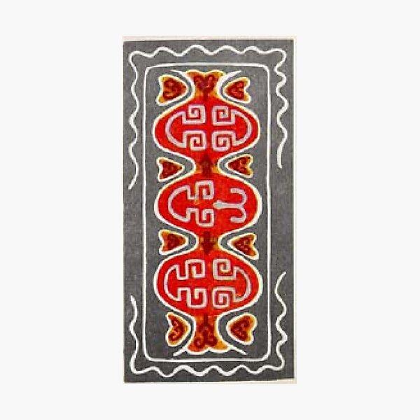 #Ковровый #узор #балкарского #карачаевского #войлочного #ковра #Carpet #pattern of a #Balkarian & #Karachay #felt #carpet #Ковровыйузор #CarpetPattern #таулу #tawlu #mountaineer #таулула #tawlula Photographic Print