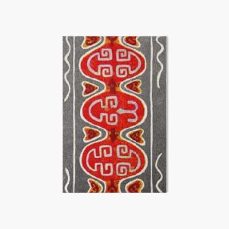 #Ковровый #узор #балкарского #карачаевского #войлочного #ковра #Carpet #pattern of a #Balkarian & #Karachay #felt #carpet #Ковровыйузор #CarpetPattern #таулу #tawlu #mountaineer #таулула #tawlula Art Board Print