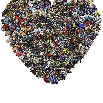 ¡Monstruos en nuestros corazones! de Unsigned