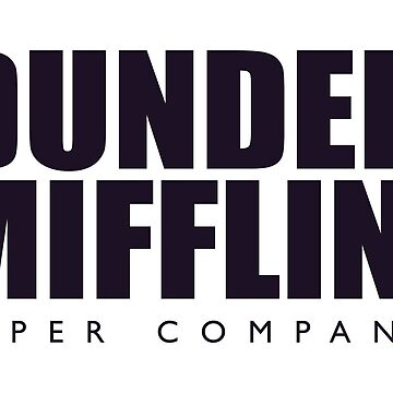 Dunder Mifflin Merchandise by PatrickOrtiz