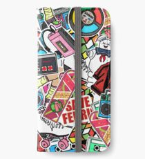 80s Mash iPhone Wallet/Case/Skin