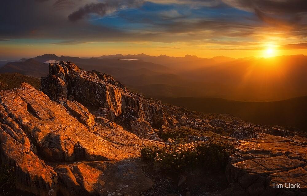 Hartz Sunset by Tim Clark