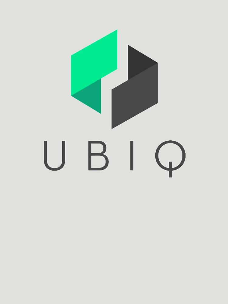 UBIQ T-Shirt - Crypto Shirt - UBIQ Shirt by NativOrganics