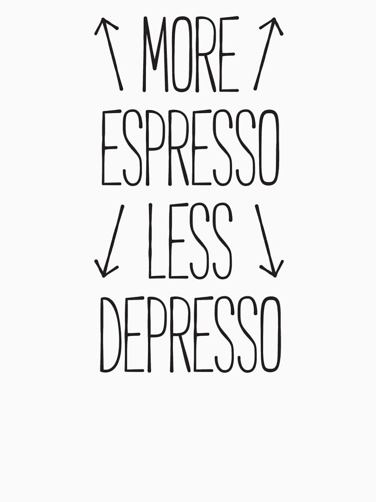more espresso less depresso by RedYolk