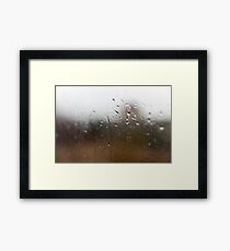 Water as Life - Alternative Framed Print
